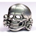 Skull from a soldier's cap M43.