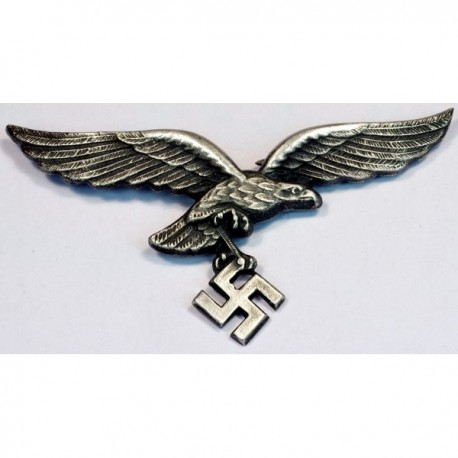 GERMAN NAZI LUFTWAFFE VISOR CAP EAGLE.