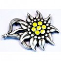 Mountain Troops OFFICERS Hat Edelweiss Badge.