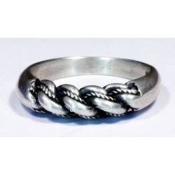 "Sterling silver Latvian ""Namejs"" ring"