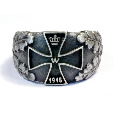 ww1 iron cross ring