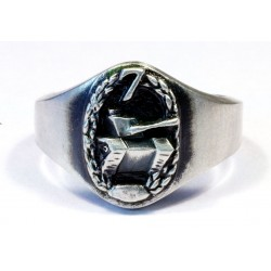 Panzer Grenadier Silver ring