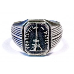 German WWII NAZI Ring TOUREIFEL PARIS