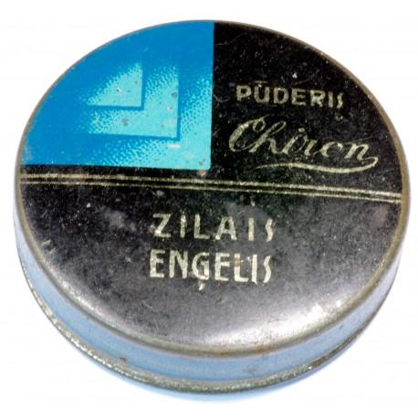 RETRO VINTAGE POWDER TIN ZILAIS ENGELIS