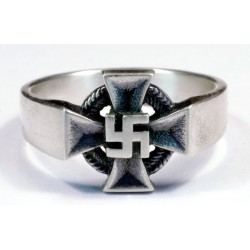 WW2 GERMAN FAITHFUL SERVICE DECORATION MEDAL ring