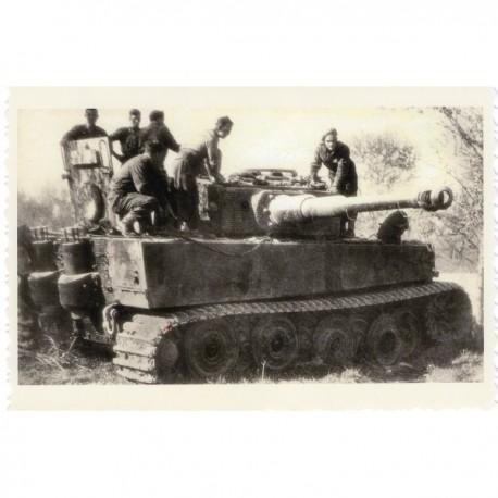Fotogrāfiju reprodukcija no WW2 .