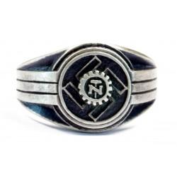Deutsche Arbeitsfront silver ring