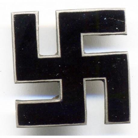 WWII Nazi German ENAMELED Swastika pin/badge