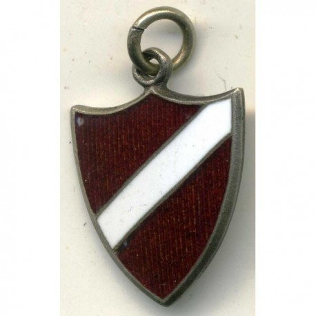 WWII German Latvian Volunteer Pendant