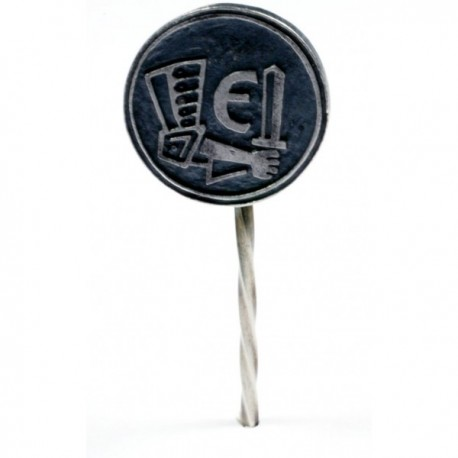 WWII German Estonian Volunteer stickpin .