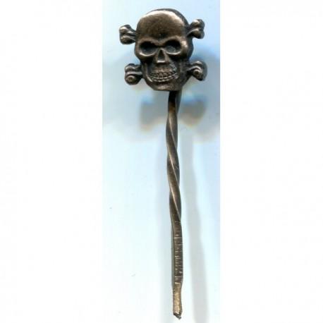 German Nazi SS Skull stickpin