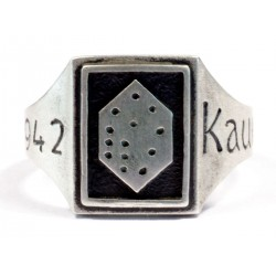 German WW2 ring from Kaukas , 1942