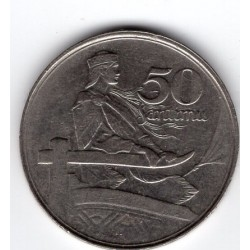 Latvia coin 50 Santimu 1922