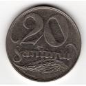 Latvia coin 20 Santimu 1922