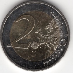 2 euros - 30th anniversary of the EU flag