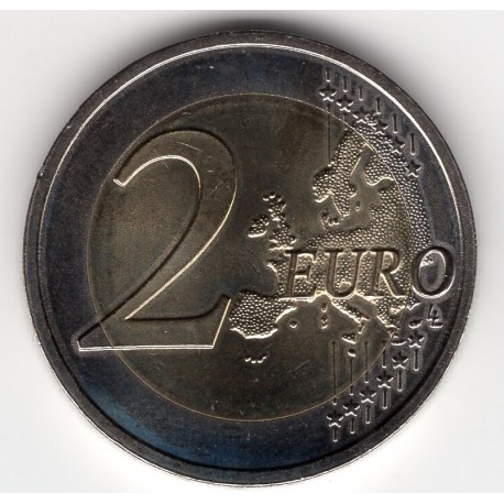 Latvia 2 euros 2015 - Black stork protection plan