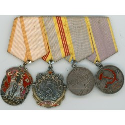 RUSSIAN SOVIET RUSSIA USSR Medal Set of 4 Medals