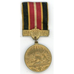 Firefighter's Association 10 years commemoration medal