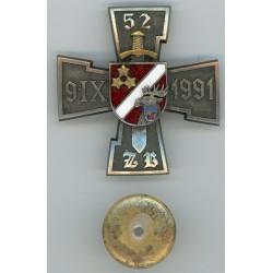Zemessardzes 52.bataljona krūšu zīme