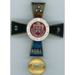 Badge of the Latvian security police