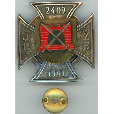 Jūrmalas 18.Zemessardzes bataljona krūšu zīme