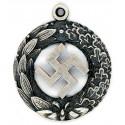 German WWII Silver pendant