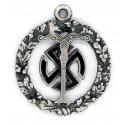 AhnenerbeOccult History Ahnenerbe silver pendant