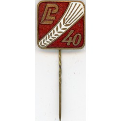 The Latvian soviet vintage stick pin  L40
