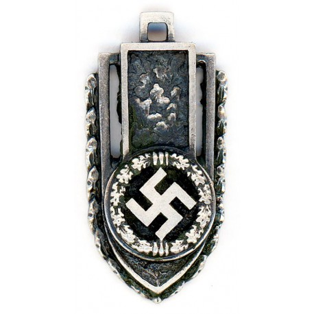 German WW2 Silver swastika pendant