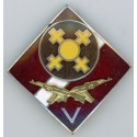 The badge of the Latvian Army