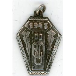 Latvian pendant 1943 BUD