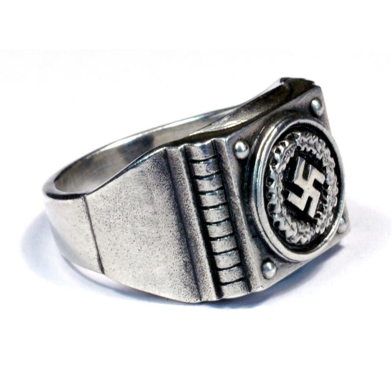 Silver German Ring