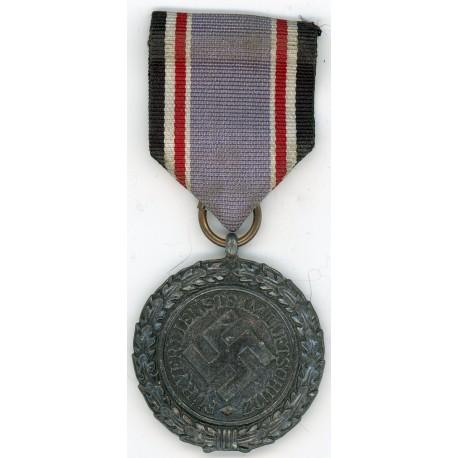 WWII German Luftschutz service medal