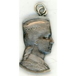 Latvian silver pendant