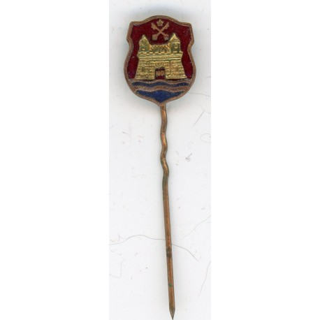 The Latvian soviet stick pin