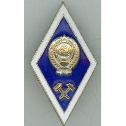 Badge of the Engineering Institute graduate