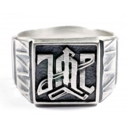 German WWII 1st  Division LAH ring