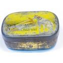Vintage HMV Gramophone Needle Tin yellow