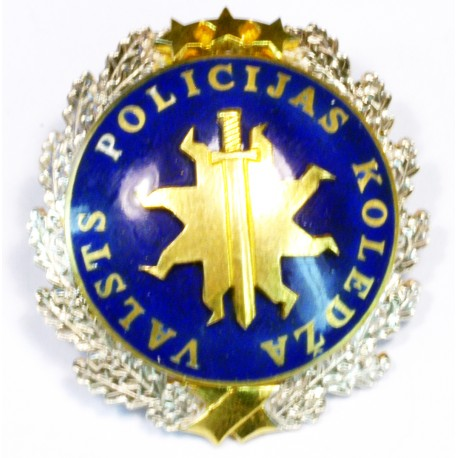 The State Police College badge