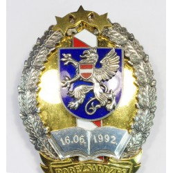 Latvian Border Guard College badge