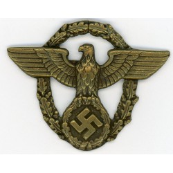 WWII German Police`s Hat Eagle Insignia