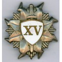 Latvian  State Police  badge XV