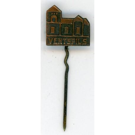 """The Latvian soviet stick pin """"Ventspils """""""