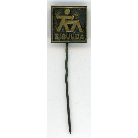 "The Latvian soviet stick pin ""Sigulda"""