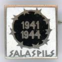 "Latvian soviet pin ""Salaspils 1941 1944"""