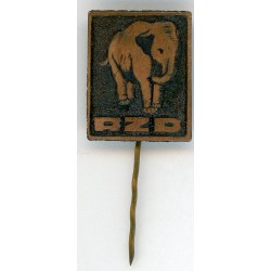 Latvian soviet stick pin Riga Zoo(RZD)