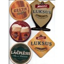 Latvian beer coasters