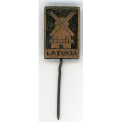 Latvian soviet stick pin LATVIJA