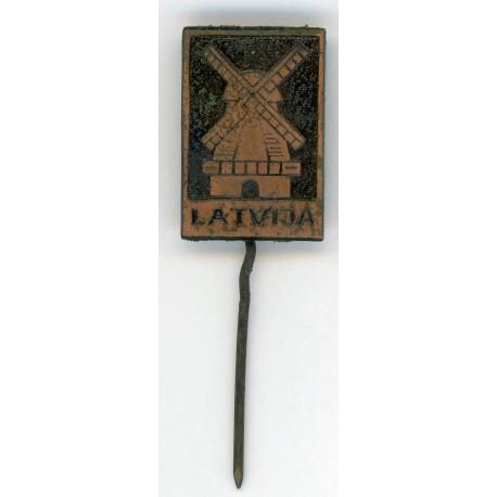Latvian soviet stick pin LATVIJA
