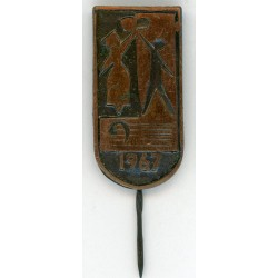 Latvian soviet stick pin 1967